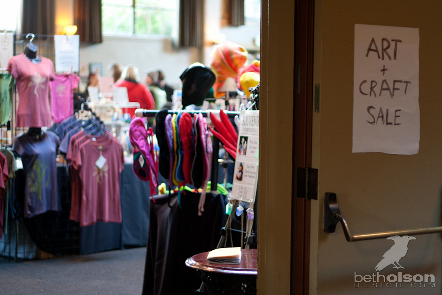 Art and Craft Sale at Kennedy School in Portland, Or- Beth Olson Creative