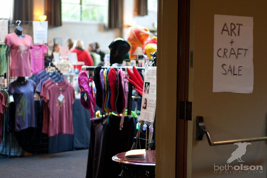 Art and Craft Sale at Kennedy School in Portland, Or- Beth Olson Creative