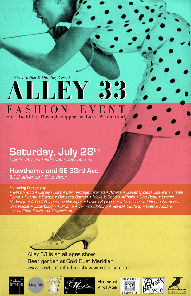 Alley 33 Poster 2012 Web by Beth Olson Creative