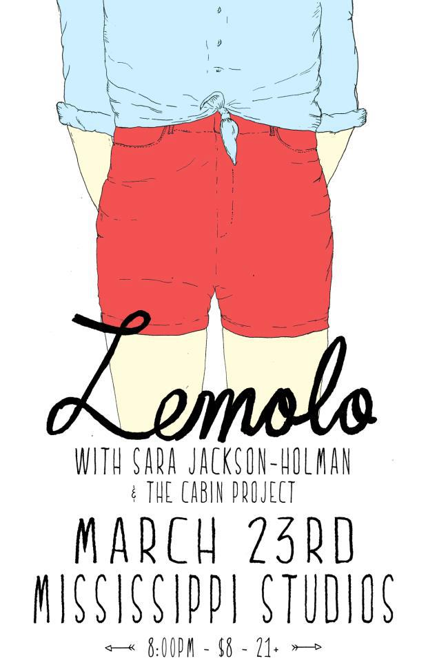 Lemolo, Sara Jackson-Holman and The Cabin Project at Mississippi Studios