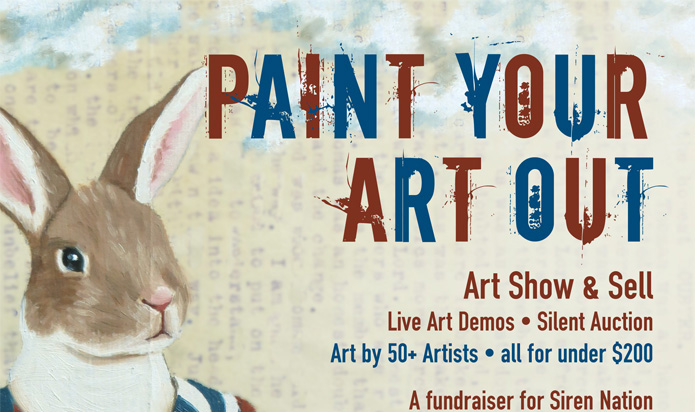 Paint Your Art Out This Thursday!