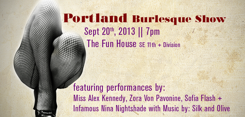 The Portland Burlesque Show | Sept. 20th