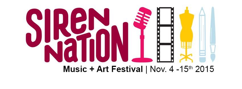 The Siren Nation Festival November 4 – 15, 2015