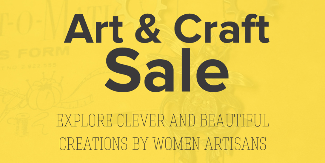 2018 Arts & Craft Sale Vendors Announced!