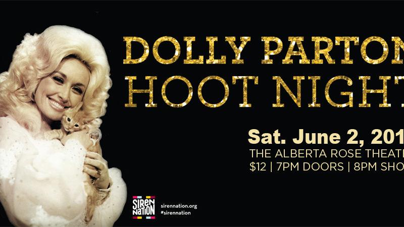 Dolly Parton Hoot Night ~ A Fundraiser for Siren Nation
