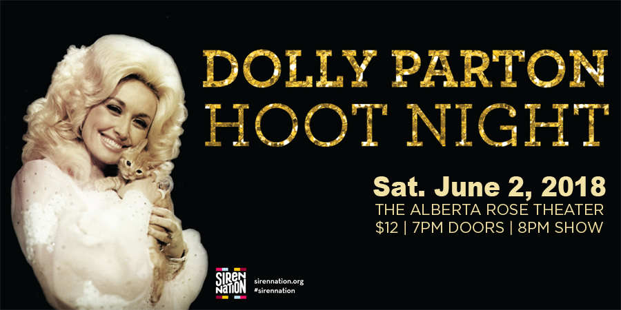 Dolly Parton Hoot Night ~ A Fundraiser for Siren Nation