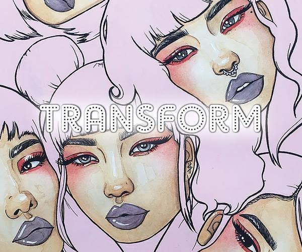 Siren Nation's 12th Annual Visual Arts Show: TRANSFORM!