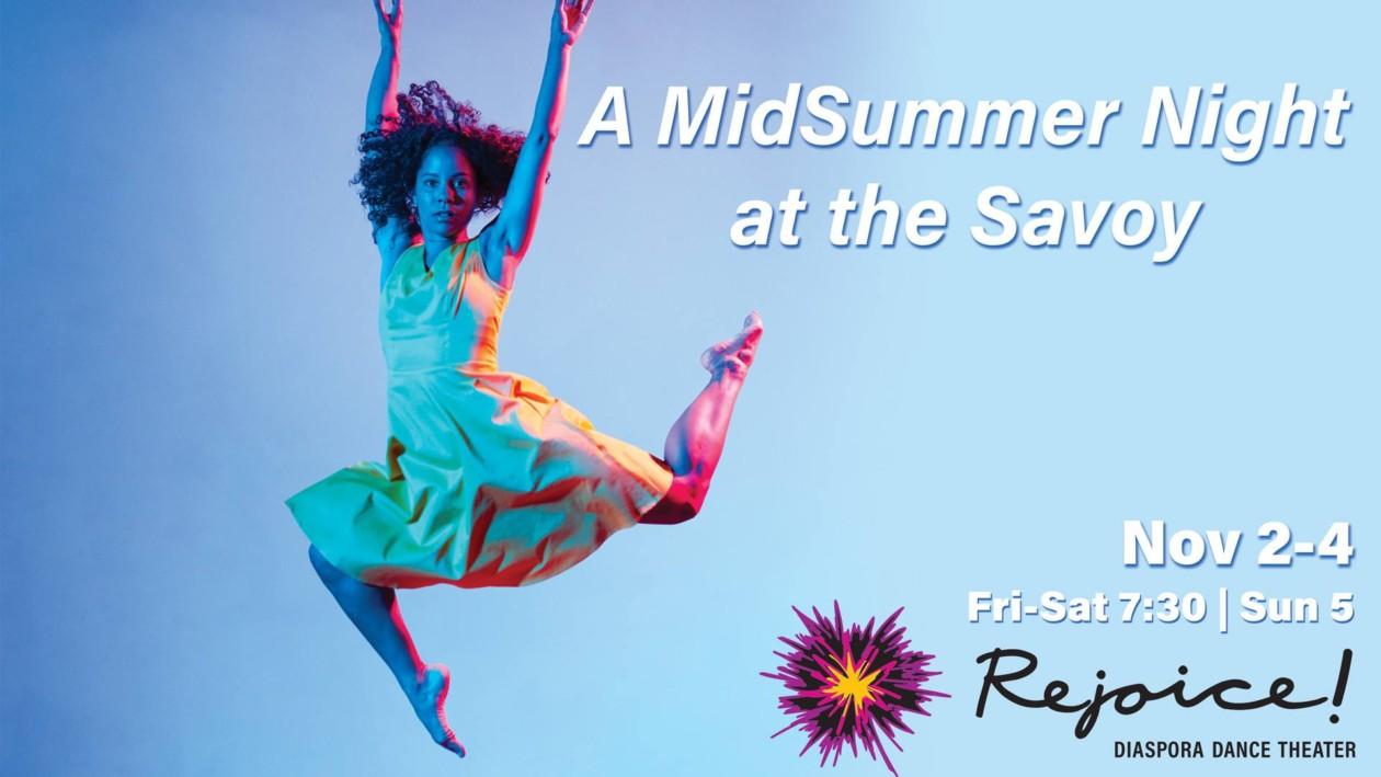Rejoice! Diaspora Dance Theater at Portland Playhouse