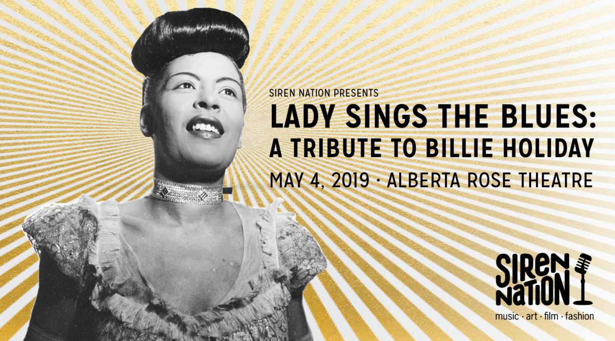 The 13th Annual Billie Holiday Tribute Night.