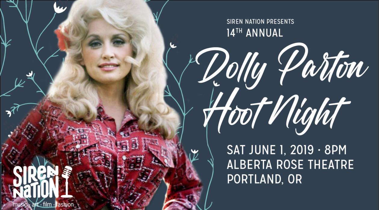 14th Annual Dolly Parton Hoot Night!